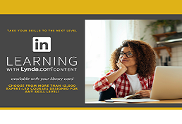 LinkedIn Learning with Lynda.com Content landing page