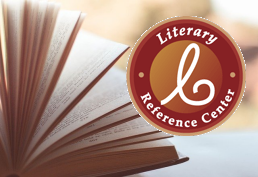 Literary Reference Center landing page