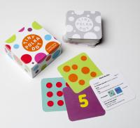 Card game with polka dot cards
